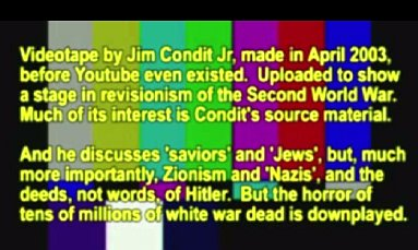 Condit on Hitler